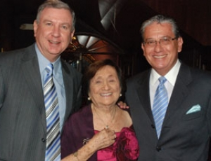 Xavier Vidal Maspons, Isabel Silva Estrada y Alex Jaramillo.
