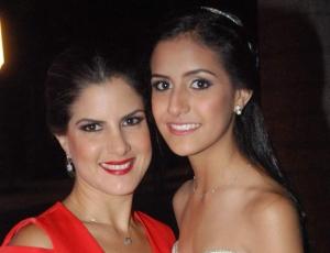 Paola Andrade de Velasco e Isabela Vivar.