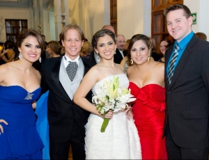 Maria Gabriella Ponce-Skidmore, Chad, Peggy, Carolina Ponce-Tryon, Connor Tryon.
